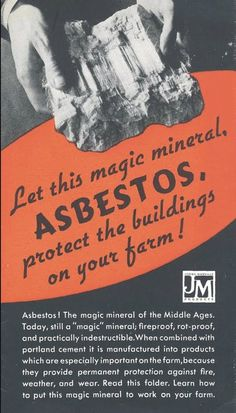 Asbestos Products Mesothelioma Lawsuits